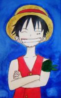 Monkey D Luffy by Zookey64