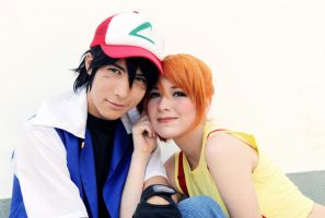Ash Ketchum and Misty Pokemon Cosplay
