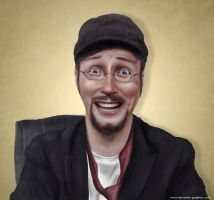 The Nostalgia Critic by devotion-graphics