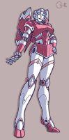 Arcee Redesign by cwmodels