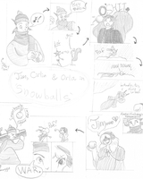 Biggest Snowballs: comic by Cirlin