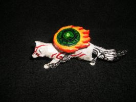 *SOLD* Customized Okami Amaterasu by stephanie1600