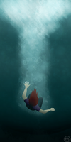 I can't drown my demons... by Birchwing