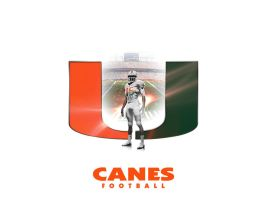 Canes Football v2 by Photopops