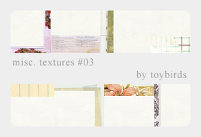 Misc. Textures 03 by toybirds