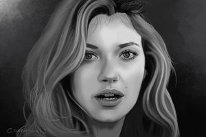 Imogen Poots by garrypfc