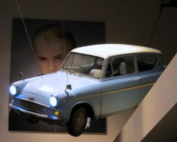 flying car harry potter WB tour by Sceptre63