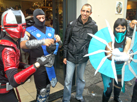 Mortal Kombat cosplayers by Lynus-the-Porcupine