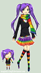 TheColourBox: Rainbow Mascot by imaginary-ang3l