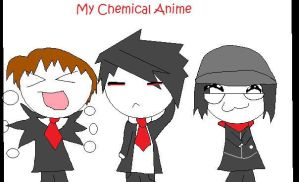 My Chemical Anime by pikacha101
