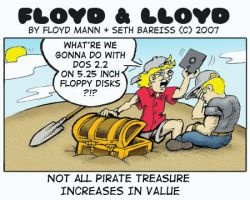 Not all pirate treasure lasts by sethness