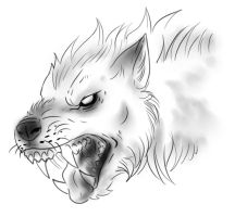Lycan head 4 by FuriarossaAndMimma