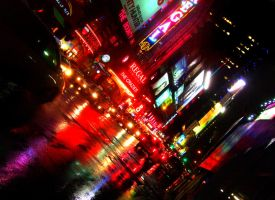 NYC TSQ by y2jabba