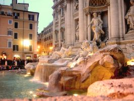 Trevi Fountain - Rome by elisinapapri