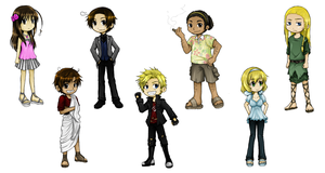 Hetalia Chibi Set No. 5 by SiriEx