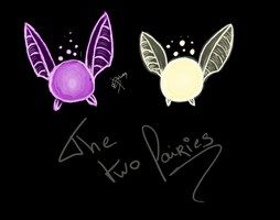 The two fairies by Lageon