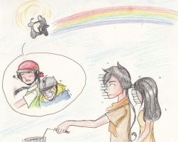 [APH] Over the rainbow... by vn4eyedgirl