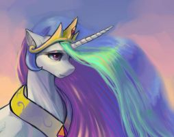 Princess Celestia by Murra-mau