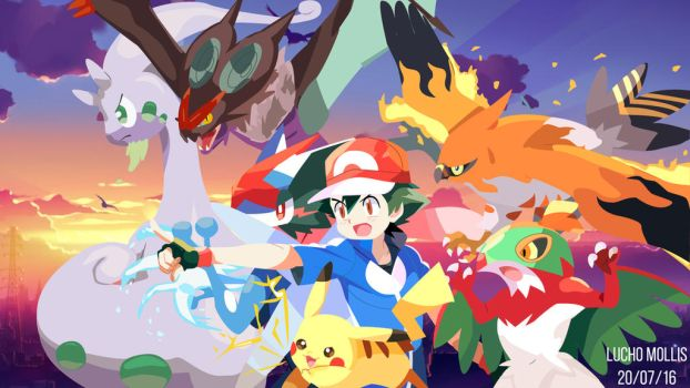 Pokemon XY The Kalos Team (Complete) by Luchoxfive