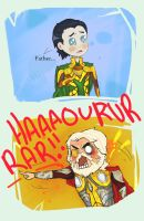 Thor- Odin Rage scene by ForgetMorals