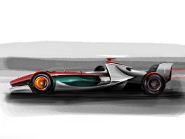 F1 side view by auto-concept