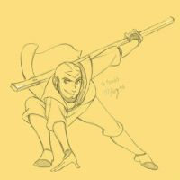 Adult Aang by Foxsnout45