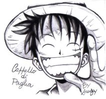 Luffy Mugiwara by Angy89