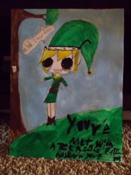BEN Drowned Painting by madelynj11