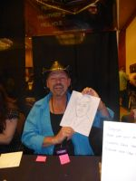 Roy Wooley with Quick Drawing I by Poorartman