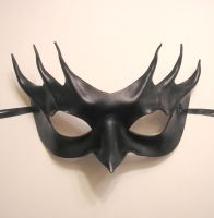 Black Leather Mask 6 by teonova