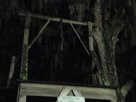 Gallows of the Old Jail by GreyScale9