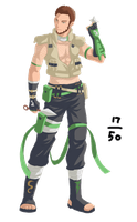 "17 of 50 ""Midori Naruto Vers."" by Graphic--Ops"