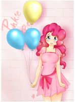 pinkie pie by airinlabrin