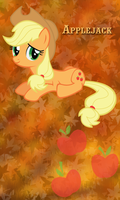 Applejack Win7 Phone BG by TecknoJock