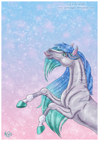 2013 Equine Secret Santa: Jahpan by Seeburglar