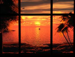 View from a seaside house by 00AngelicDevil00