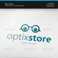 Optix Store Logo by artnook