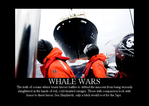 Whale Wars by Winter-Phantom