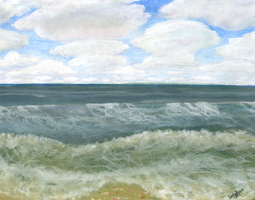 The Outer Banks by BeckyPennArt