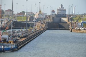 Panama Canal Locks 02 by FairieGoodMother