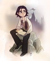 Young Snape by Katikut