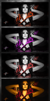 A bunch of Paige signatures by HTN4ever