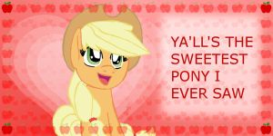 From Apple Jack to you: Happy Valentine's by Jacklave