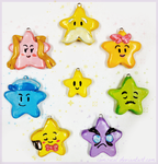 Paper Mario Star Spirits Charms by Comsical
