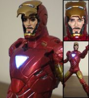 Iron Man Tony Stark by future-trunks