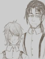 Daniel and Charles by DreamXxXDemon178