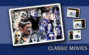 Classic Movies Wallpaper - WS by karthik82