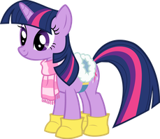 Twilight sparkle winter versiion by ShaneGray91