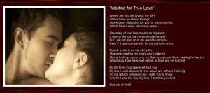 Waiting On True Love by VisualPoetress