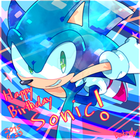 Sonic 24th Anniversary by Baitong9194